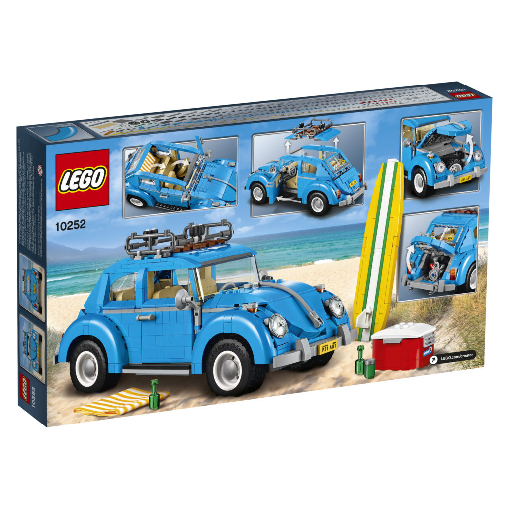 LEGO 10252 Volkswagen Beetle - Box Back