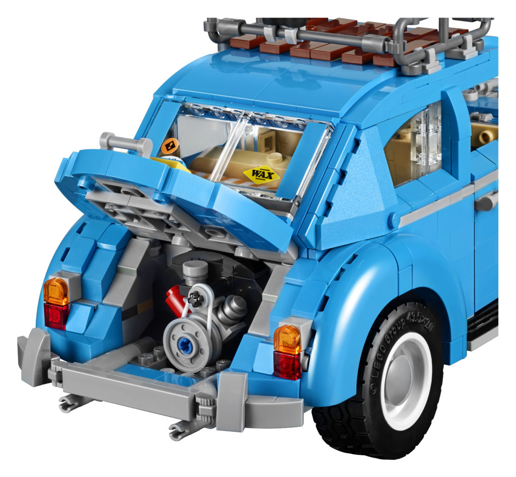 LEGO 10252 Volkswagen Beetle - Engine