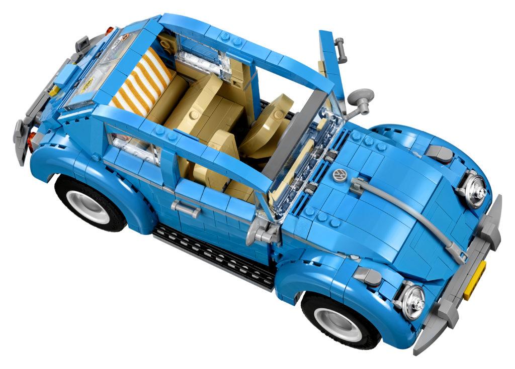 LEGO 10252 Volkswagen Beetle - Top View