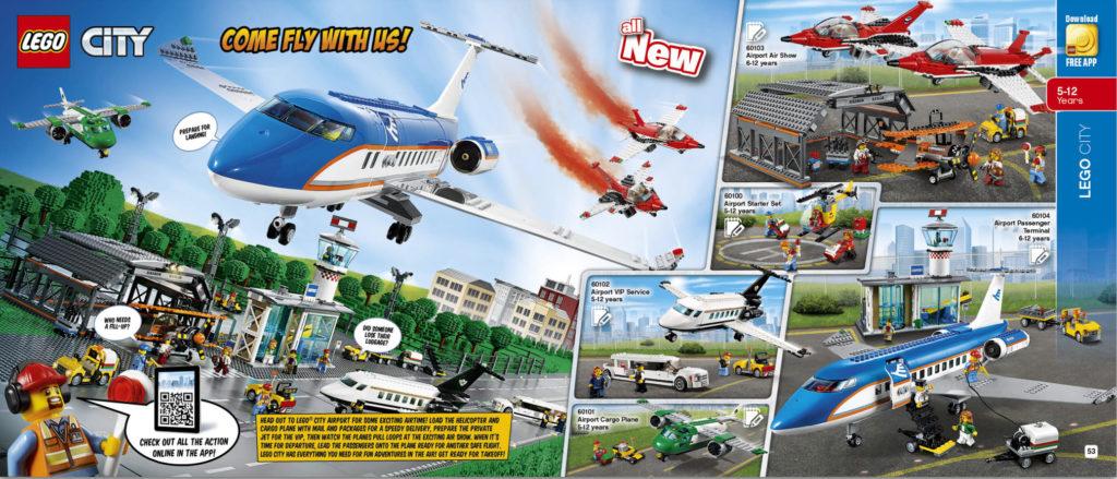 LEGO 2HY 2016 Calendar - City Airport