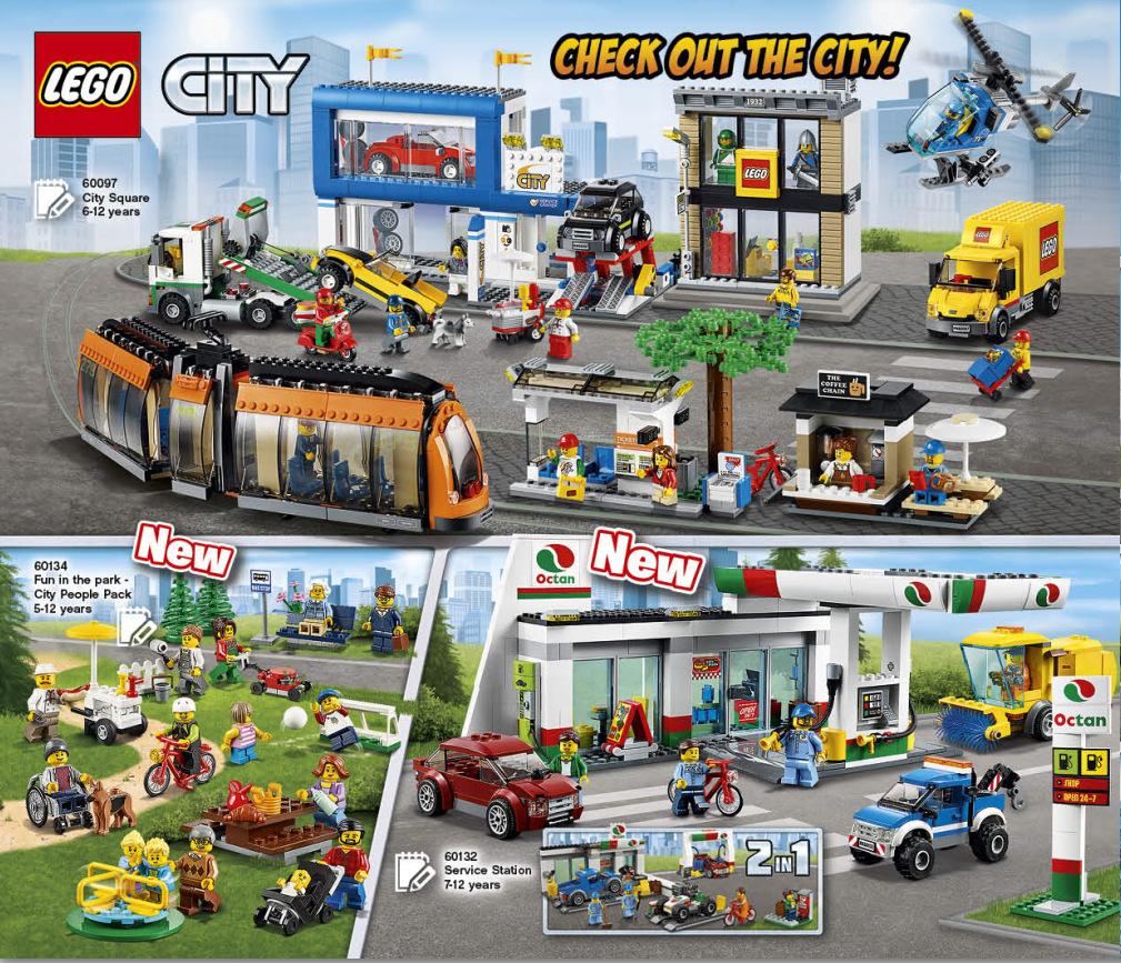 LEGO 2HY 2016 Calendar - City