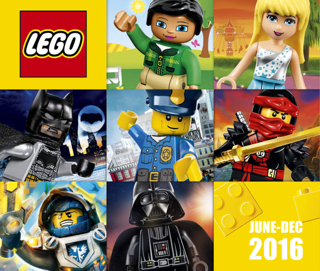 Second Half 2016 LEGO Catalogue (June – December)