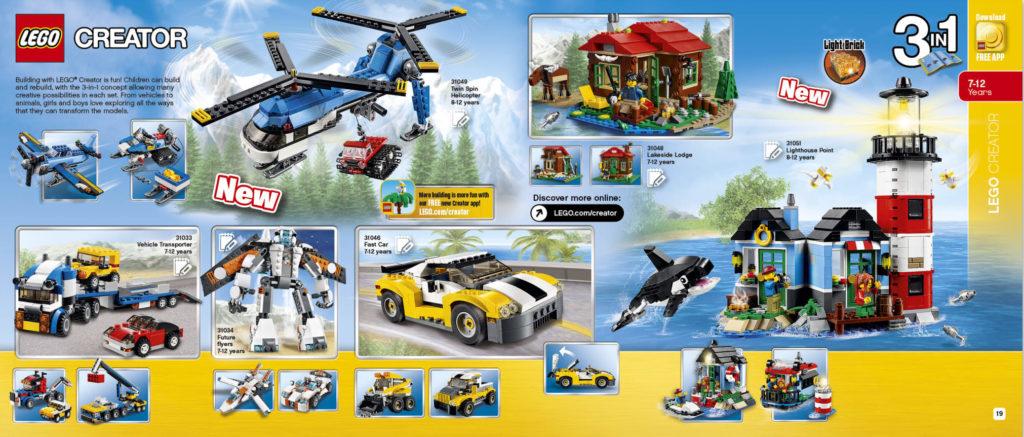 LEGO 2HY 2016 Calendar - Creator 1