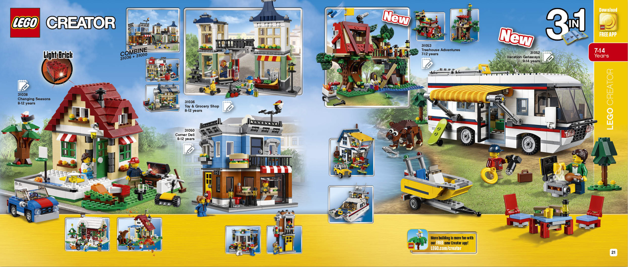 second half 2016 lego catalogue june december. Black Bedroom Furniture Sets. Home Design Ideas