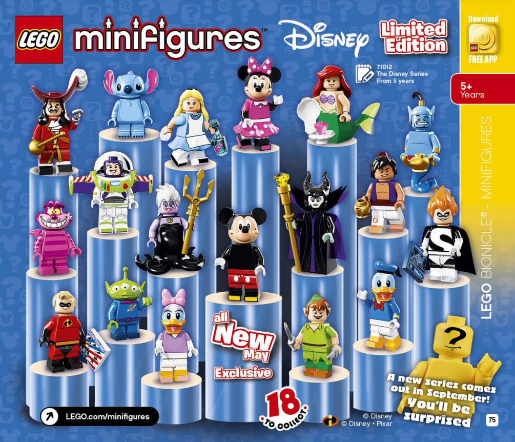 LEGO 2HY 2016 Calendar - Disney Minifigures