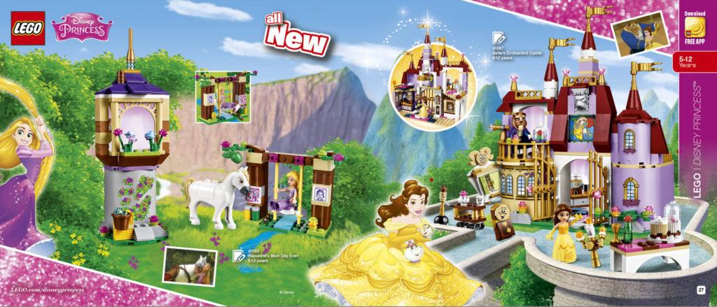 LEGO 2HY 2016 Calendar - Disney Princess