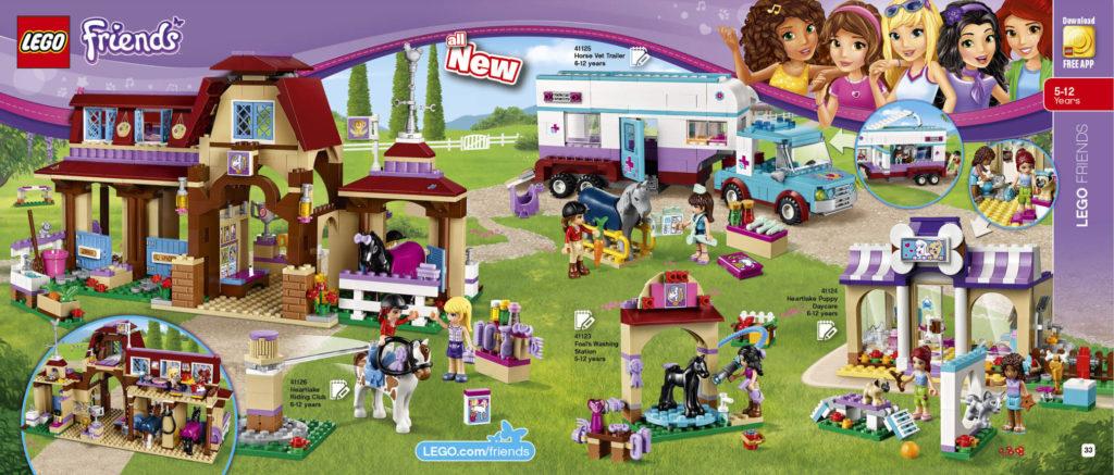 LEGO 2HY 2016 Calendar - Friends
