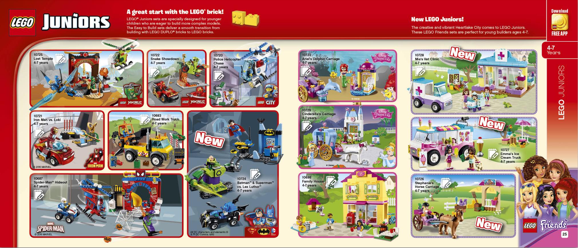 Second Half 2016 LEGO Catalogue (June – December) – Jay's
