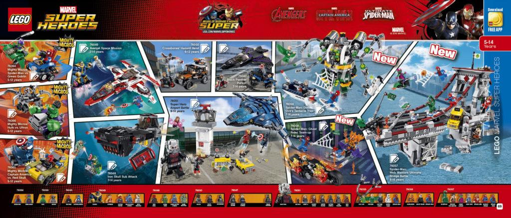 LEGO 2HY 2016 Calendar - Marvel Super Heroes