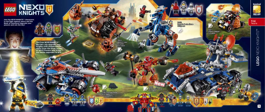LEGO 2HY 2016 Calendar - Nexo Knights
