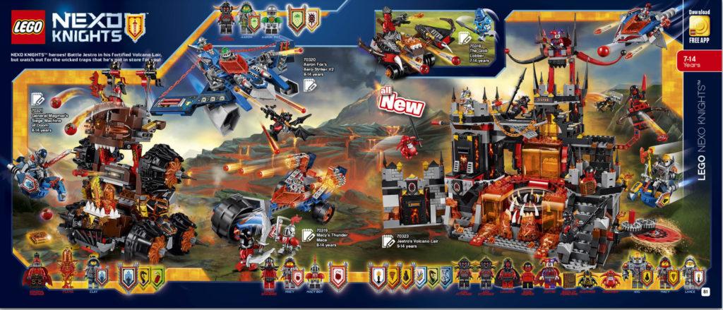 LEGO 2HY 2016 Calendar - Nexo Knights 2