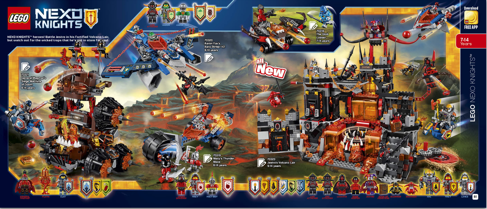 Second Half 2016 Lego Catalogue June December
