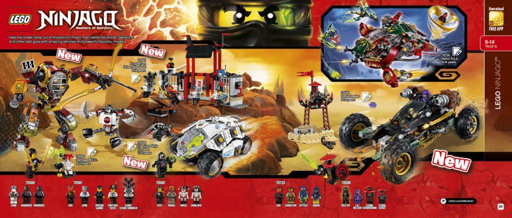 LEGO 2HY 2016 Calendar - Ninjago 2