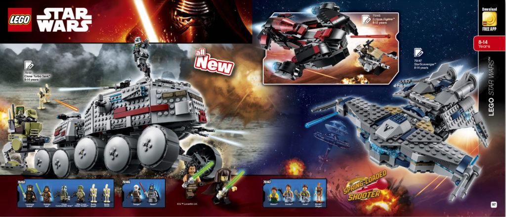 LEGO 2HY 2016 Calendar - Star Wars