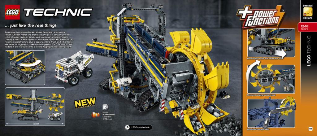 LEGO 2HY 2016 Calendar - Technic 1