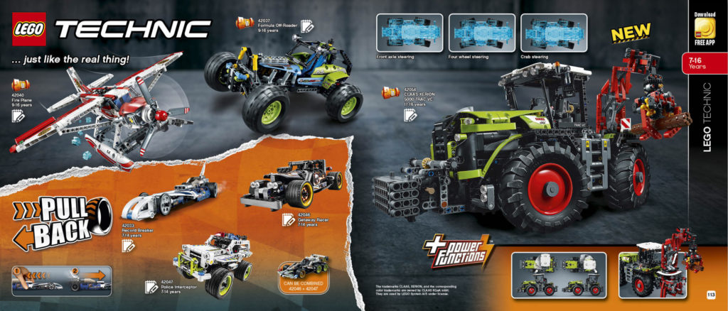 LEGO 2HY 2016 Calendar - Technic 2