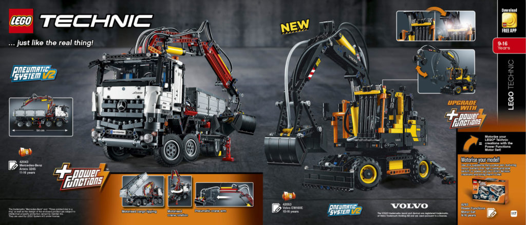 LEGO 2HY 2016 Calendar - Technic 3