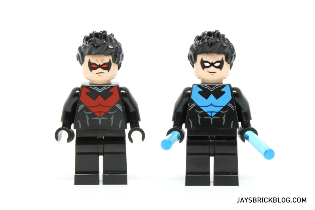 LEGO 30606 Nightwing - Comparison
