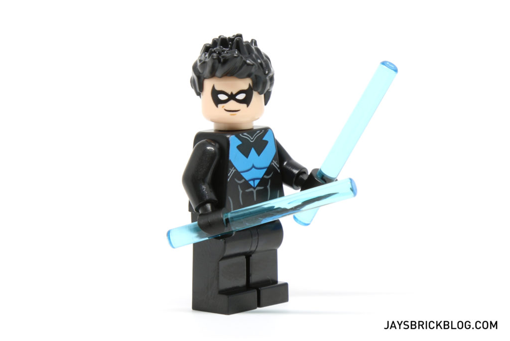 LEGO 30606 Nightwing - Nightwing 2016 Minifig Side View