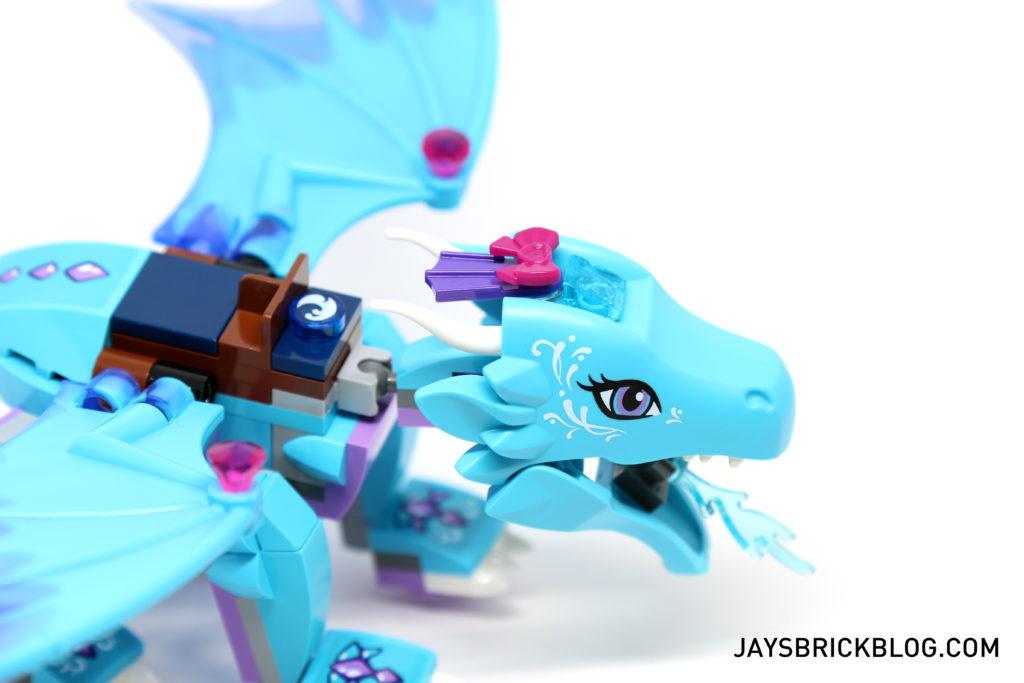 LEGO 41172 The Water Dragon Adventure - Head Closeup