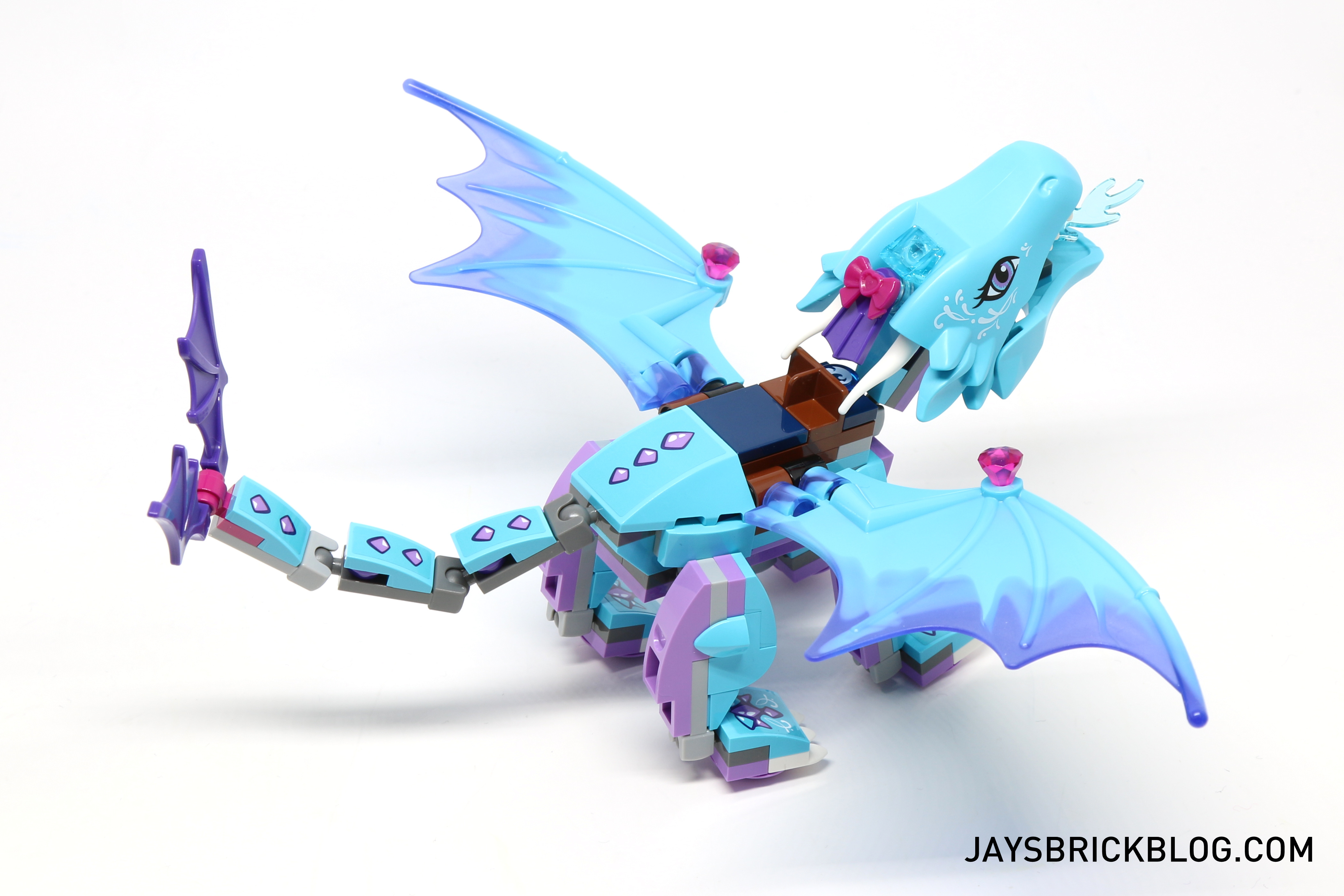 Lego figure polybag limited serie elves elf the small blue dragon