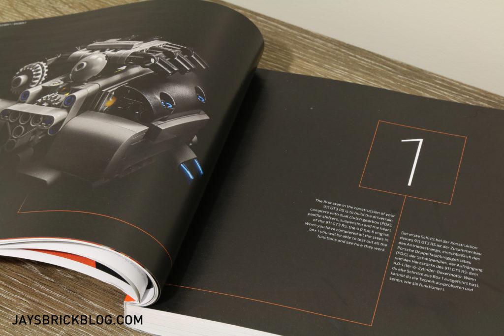 LEGO 42056 Technic Porsche 911 - Box 1 Intro