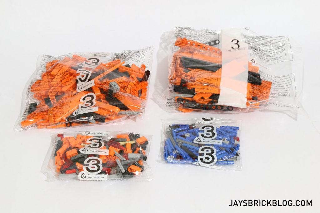 LEGO 42056 Technic Porsche 911 - Box 3