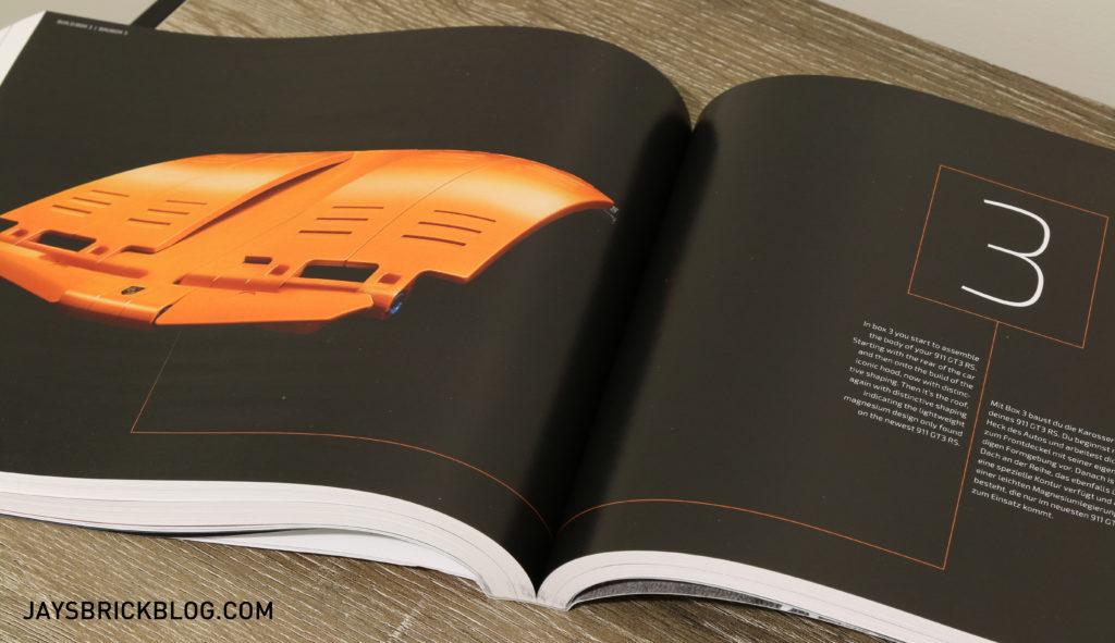 LEGO 42056 Technic Porsche 911 - Box 3 Intro
