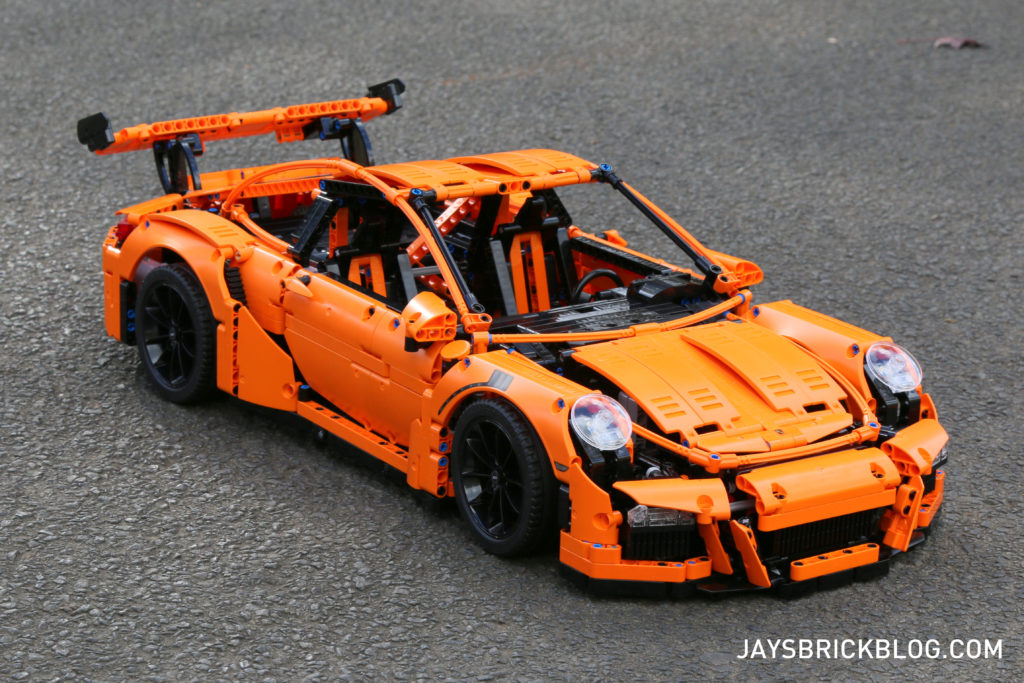 lego technic porsche 911 gt3 rs tesco heads up. Black Bedroom Furniture Sets. Home Design Ideas