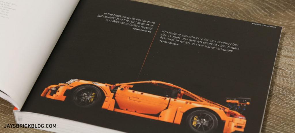 LEGO 42056 Technic Porsche 911 - Manual Welcome