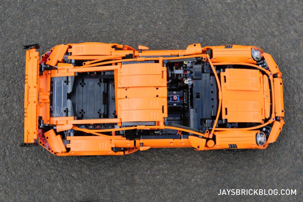 LEGO 42056 Technic Porsche 911 - Top View