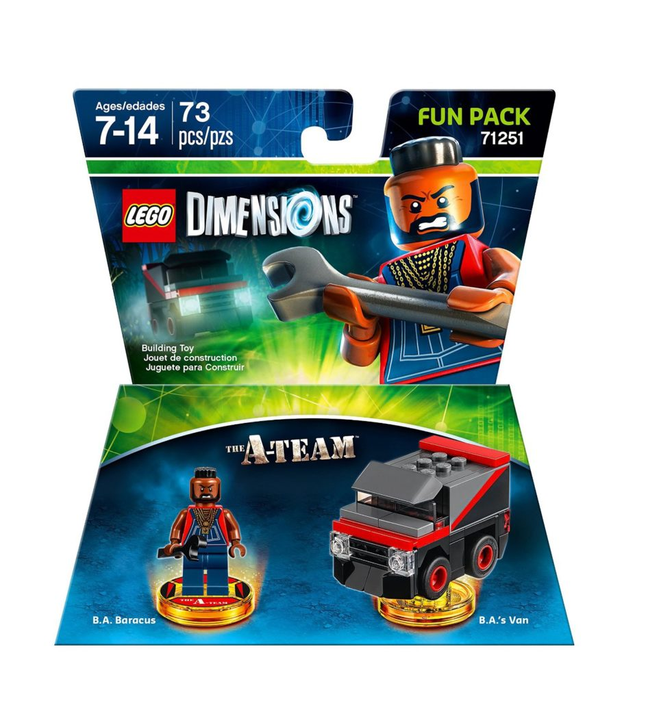 LEGO 71251 Dimensions - A-Team Fun Pack