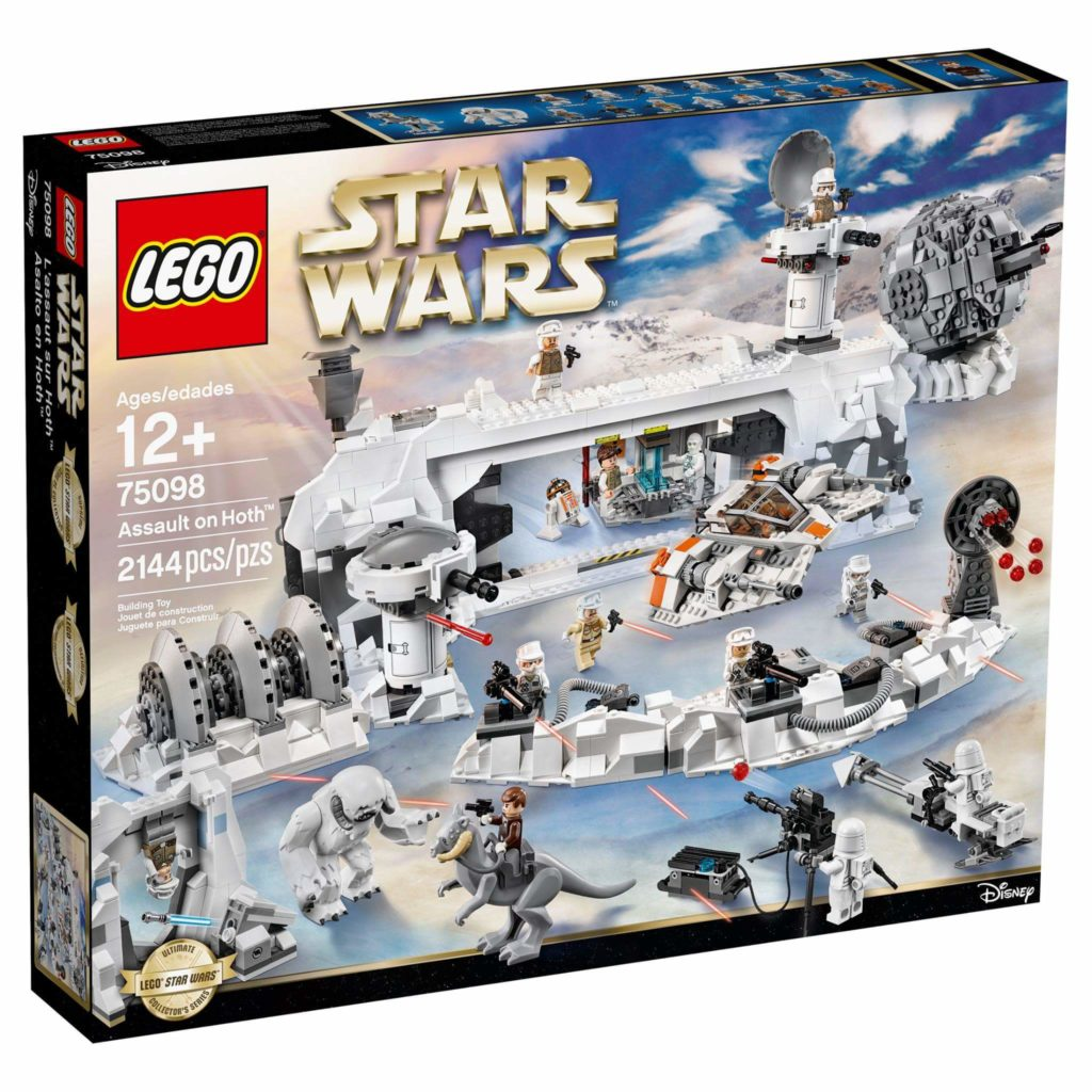 LEGO 75098 Assault on Hoth - Box