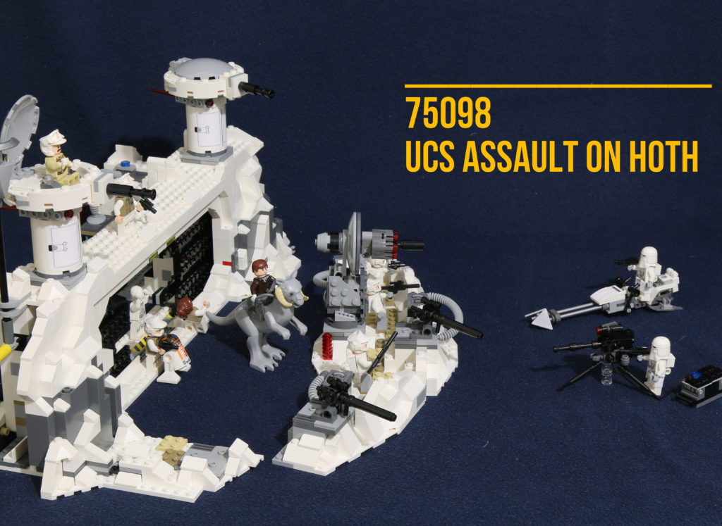 "Review: LEGO 75098 – ""UCS"" Assault on Hoth"