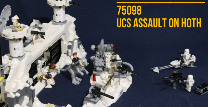 """Review: LEGO 75098 – """"UCS"""" Assault on Hoth"""