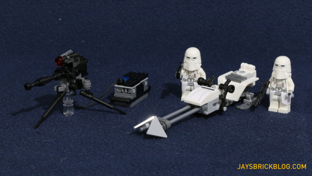 LEGO 75098 Assault on Hoth - Imperial forces