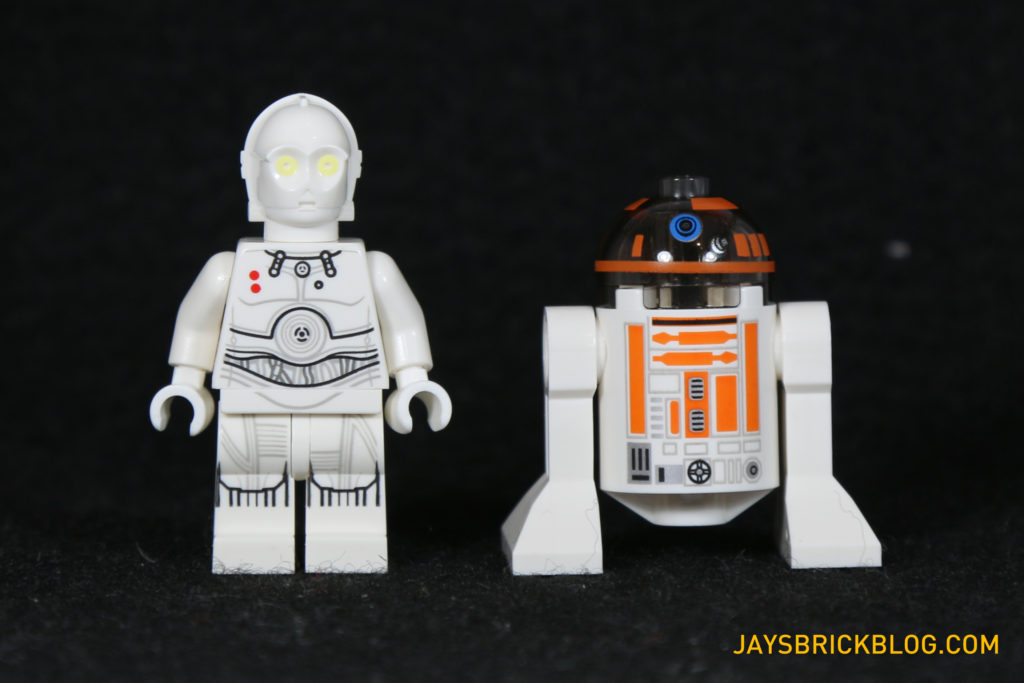 LEGO 75098 Assault on Hoth - K-3PO and R3-A2 Droids