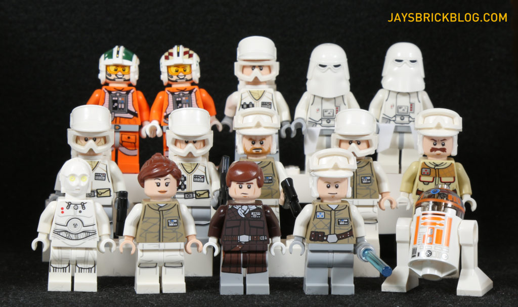 LEGO 75098 Assault on Hoth - Minifigures