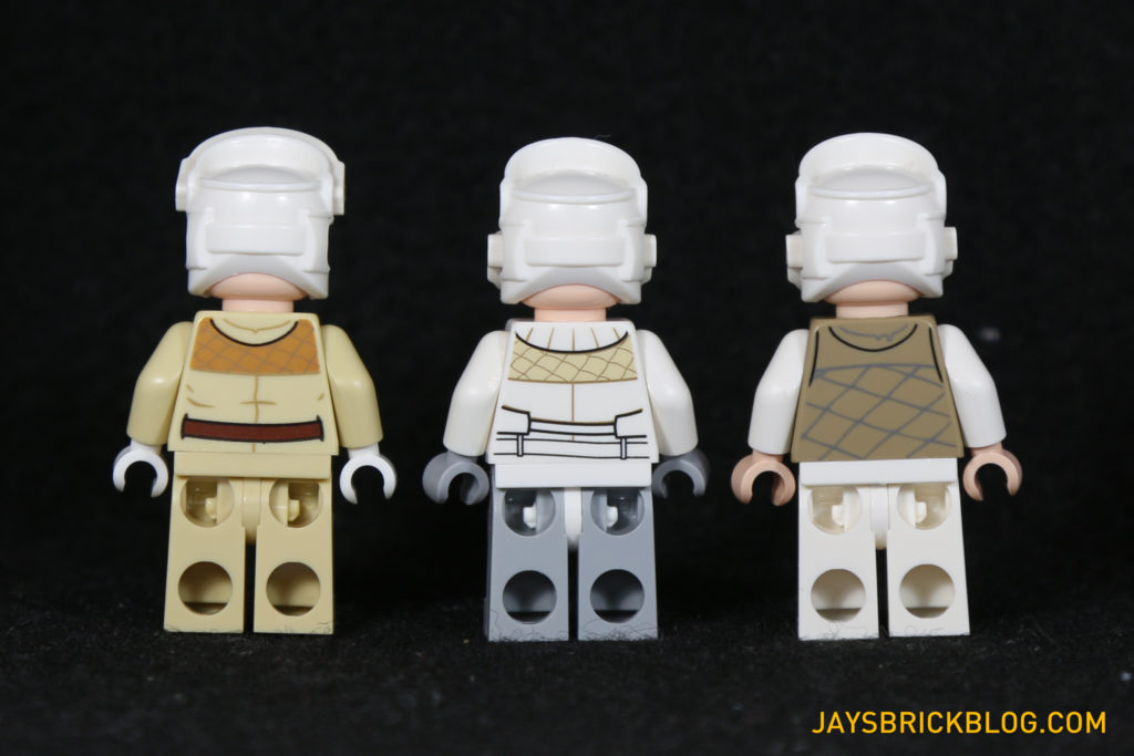 LEGO 75098 Assault on Hoth - Rebel Troopers Back Printing