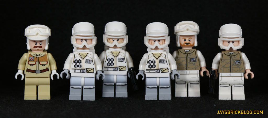 LEGO 75098 Assault on Hoth - Rebel Troopers Minifigures