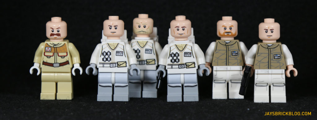 LEGO 75098 Assault on Hoth - Rebel Troopers Unmasked