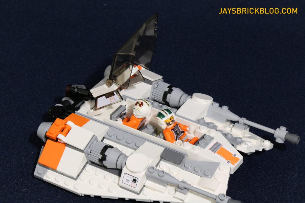 LEGO 75098 Assault on Hoth - Snowspeeder Cockpit