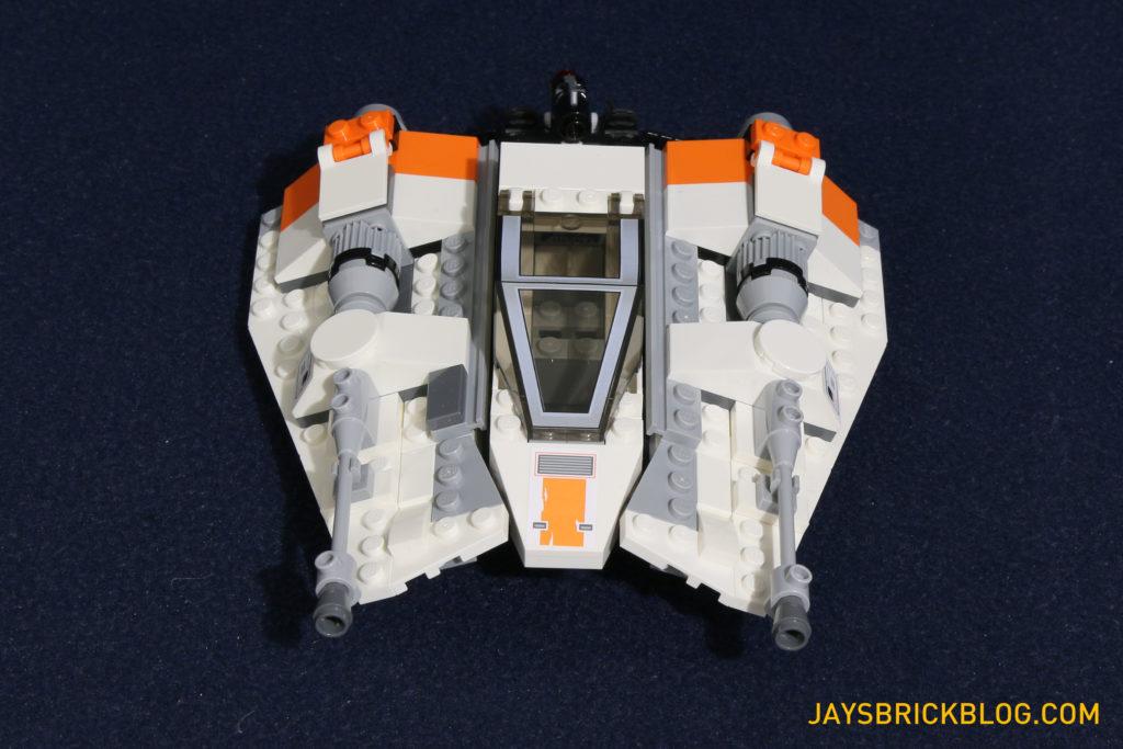 LEGO 75098 Assault on Hoth - Snowspeeder Front