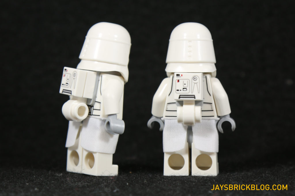 LEGO 75098 Assault on Hoth - Snowtrooper Minifigs Back