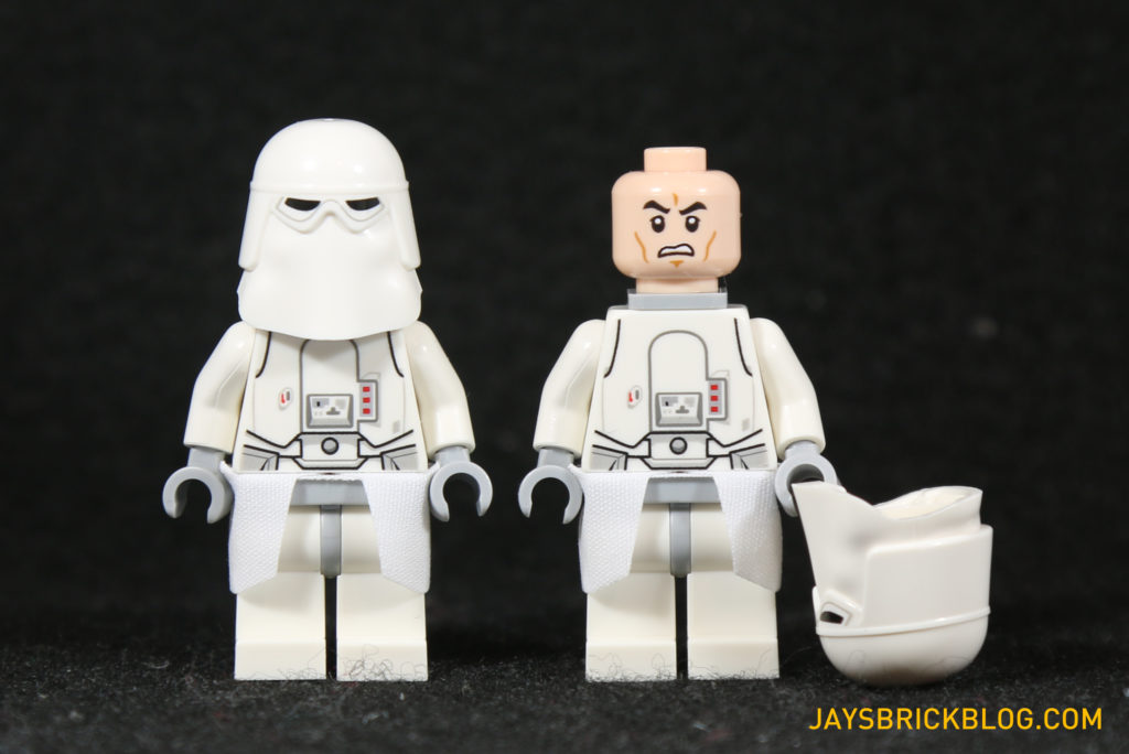 LEGO 75098 Assault on Hoth - Snowtrooper Minifigures