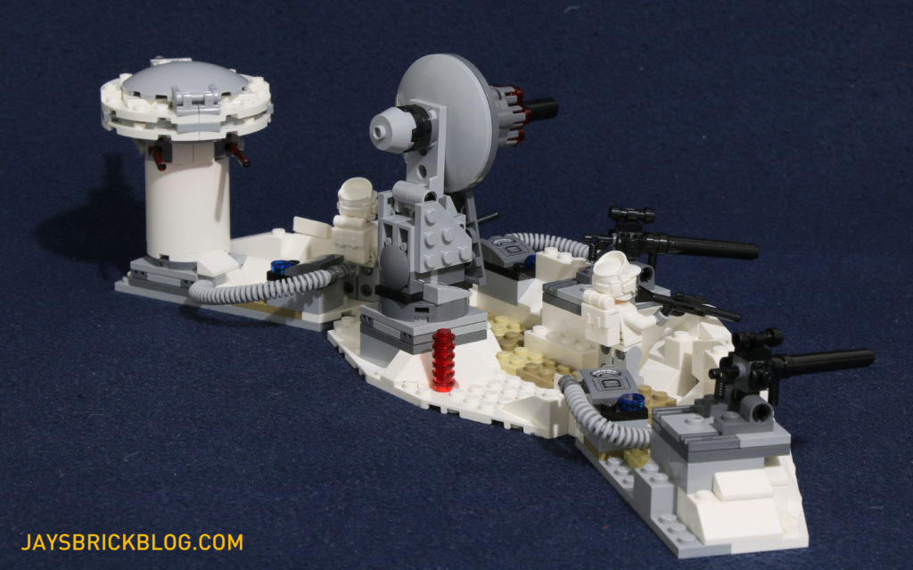 LEGO 75098 Assault on Hoth - Trench Back View