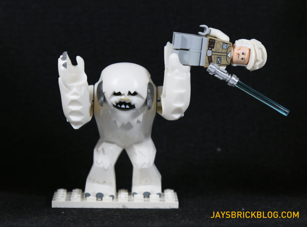 LEGO 75098 Assault on Hoth - Wampa and Luke