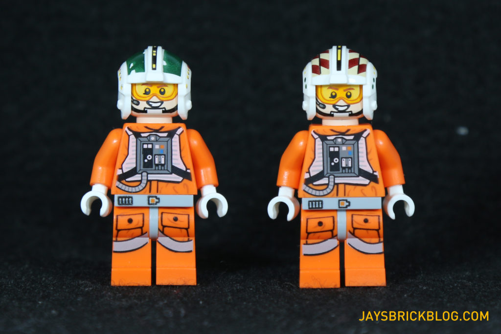 LEGO 75098 Assault on Hoth - Wedge Antilles and Wes Janson Minifigures
