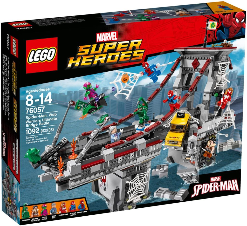 LEGO 76057 - Web Warriors Ultimate Bridge Battle Box