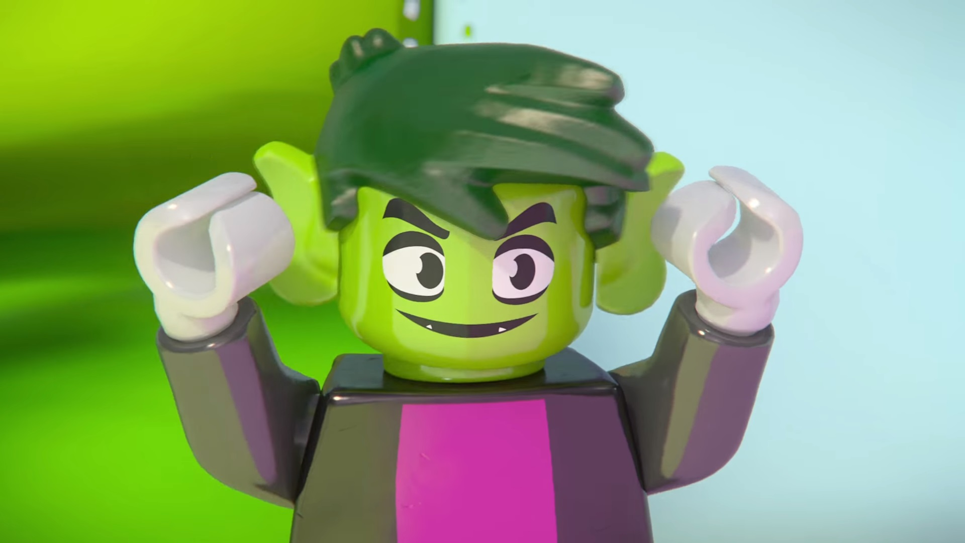 lego beast boy - photo #3